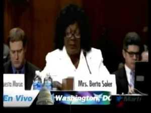 Berta Soler y sus burradas